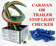 Caravan Towing Lights Checker Trailer Light Tester One Person Can Test Brakes