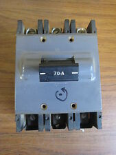 Square D MH-370 70-Amp 70A 3-Pole 3P Circuit Breaker Used Free Shipping