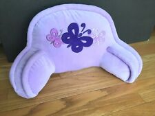 """Kids Size 22"""" Sit Up Reading Pillow with Arms - Light Purple - Polyester Filled"""