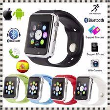 Smartwatch Reloj Inteligente Smart Watch A1 para Android IOS Bluetooth SIM TF