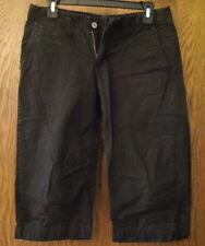 Women's Calvin Klein Black 5 Pocket Casual Stretch Capri Shorts 4