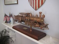 Hand Fabricated Copper Locomotive Weathervane