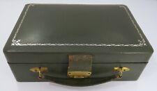 Vintage Leatherette Travelling Jewellery Box Case