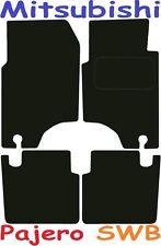 Mitsubishi Pajero SWB DELUXE QUALITY Tailored mats 1992 1993 1994 1995 1996 1997