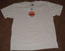 NBA Knicks Grey Short Sleeve T Shirt L