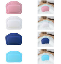 Luxury Bath Spa Pillow Cushioned Spongy Relaxing Bathtub Cushion 3 Suction Cups