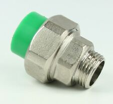 Aqua Plus PPR Kupplungsverschraubung 20mm x AG 1/2 Zoll Wasserleitung
