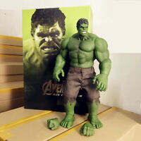 Hot 42cm Hulk Green Action Figure Marvel The Avengers Hero Model Collection Toy
