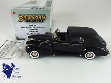 1/43 BROOKLIN BML 04 CADILLAC SERIE 75 FLEETWOOD TOWN CAR 1938 BLACK