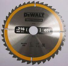 DeWalt DT1155 DT1953 Saw Blade 216 X30X40T DW777 DW701 DW707 DW712 DW771 DW777