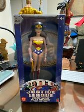 Justice League Unlimited Wonder Woman 10 inch vinyl figure DC Rare Mattel NIB