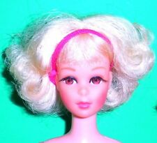 Vintage Mod 1969 Hi Color Platinum Blonde TNT Twist N Turn Francie 1170 Japan
