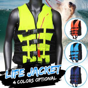 Adult Life Jacket Kayak Buoyancy Aid Vest Sailing Fishing Boating