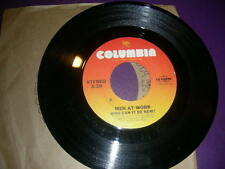 """Pop 45 Men At Work """"Who Can It Be Now / Anyone For Tennis"""" Columbia 1981 VG+"""