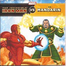 Marvel Book THE INVINCIBLE IRON MAN vs the MANDARIN Childrens Reading Story Book