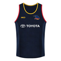 Adelaide Crows 2019 Training Singlet Sizes S - 5XL Midnight Marle AFL ISC SALE