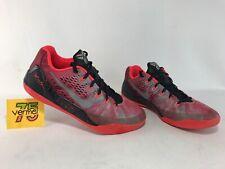 separation shoes 83bc5 0eb70 Nike Kobe 9 IX PRM Mens Size 9 Gym Red Metallic Silver Crimson 652908-606