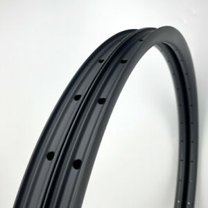"LAST STOCK 27mm Wide Carbon 27.5"" MTB Clincher Mountain Bike Rim Tubeless 1PAIR"