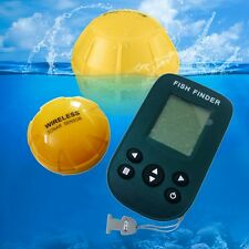 Hot 120Ft Portable Wireless Fish Finder Sonar Radio Fishfinder Alarm Transducer
