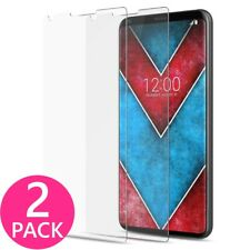 2X Premium Clear HD Slim Tempered Glass Shield film Screen Protector for LG V30
