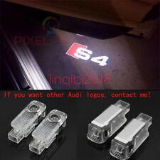 2Pcs Audi S4 LOGO GHOST LASER PROJECTOR DOOR UNDER PUDDLE LIGHTS FOR AUDI S4