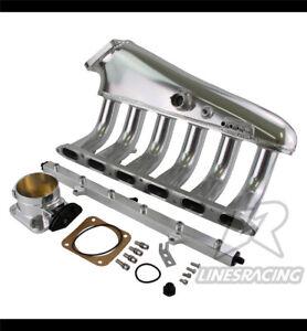 Billet Intake Manifold For BMW M50 S50 M52 S52 90-00 E36 E46 E34 E39 Z3 E34 M3