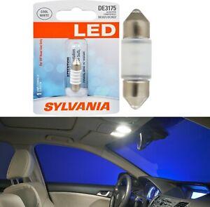 Sylvania Premium LED Light De3175 White One Bulb Interior Map Upgrade OE Lamp
