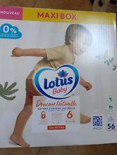 Maxibox Lotus 58 Culotte Lotus Baby Taille 6