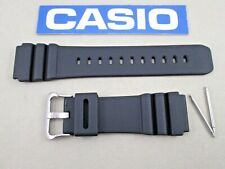 Genuine Casio AMW320R AMW330 AMW330B AMWS320 fits AMW320 black watch band & pins
