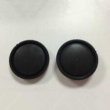 2Pcs/Set Rear Lens Cap+Camera Front Body Cover For Sony E-Mount NEX-3 NEX-5 Hot