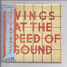 WINGS At The Speed Of Sound JAPAN mini lp cd TOCP-65506 paul mccartney beatles