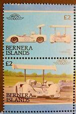 BERNERA ISLANDS 1987  AUTOMOBILES (2ND ISSUE) MNH