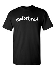 Motorhead English Heavy Metal Band Logo T-Shirt rock metal t shirt