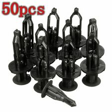 50Pcs Black Bumper Retainer Clips Fasteners For Lexus Toyota Scion #52161-02020