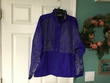 Men's Vintage UMBRO PROTOTYPE Purple Nylon Jacket Size L/XL (CON7)