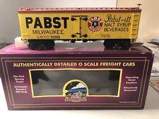 MTH Premier 20-94301 Pabst Milwaukee 36' Wood Reefer(#91006)