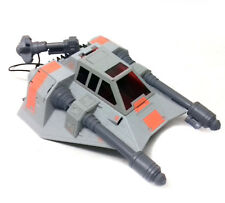 Star Wars Galactic Jedi Force SNOWSPEEDER vehicle toy for figures Grey Version