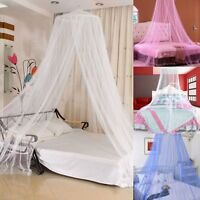 Elegant Round Dome Lace Curtain Insect Bed Canopy Netting Princess Mosquito Net