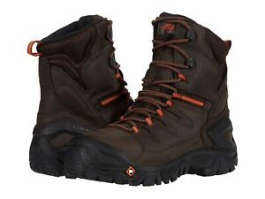 """Man's Merrell Work Strongfield Leather 8"""" Thermo Waterproof Composite Toe"""