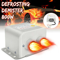 800W 12V Car Auto Ceramic Heater Fan Demister Defroster Heating Heated Winter