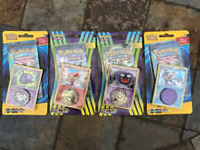 4X Pokemon XY Evolutions Breakpoint Fates Collide 10 Card Blister Packs w/ Coin