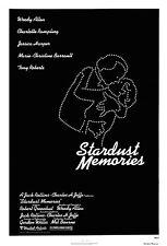 STARDUST MEMORIES Woody Allen Charlotte Rampling Rolled! 27x41 Movie Poster 1980