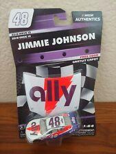 2019 Wave 10 Jimmie Johnson Ally Throwback 1/64 NASCAR Authentics Diecast