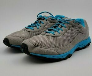 Patagonia Fore Runner Forge Blue/Gray Womens Trail Running Outdoor Shoes US 10