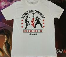 THE KARATE KID All Valley Championship - Adult T-Shirt LARGE Unisex NEW OFFICIAL
