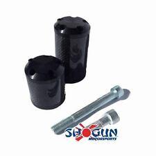Suzuki 2009-2011 GSXR1000 GSXR-1000 Shogun S5 Carbon Frame Sliders CUT Version