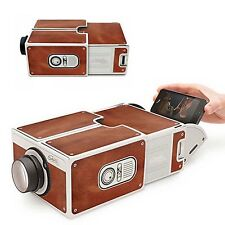 Cardboard Smartphone Projector 2.0 FOR CELL Phone Portable MINI Movie IPHONE