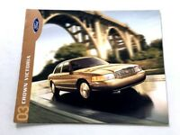 2003 Ford Crown Victoria Gold-cover 16-page Dealer Sales Brochure
