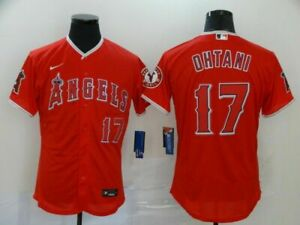 Men's Los Angeles Angels #17 Shohei Ohtani Jersey