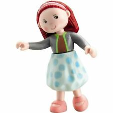 "HABA Little Friends Imke - 4"" Bendy Girl Dollhouse Doll Figure with Red Hair"
